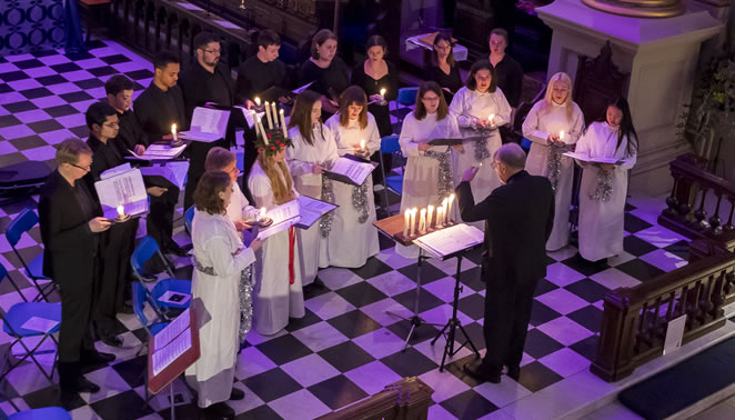 SANKTA LUCIA SERVICE (free to attend)