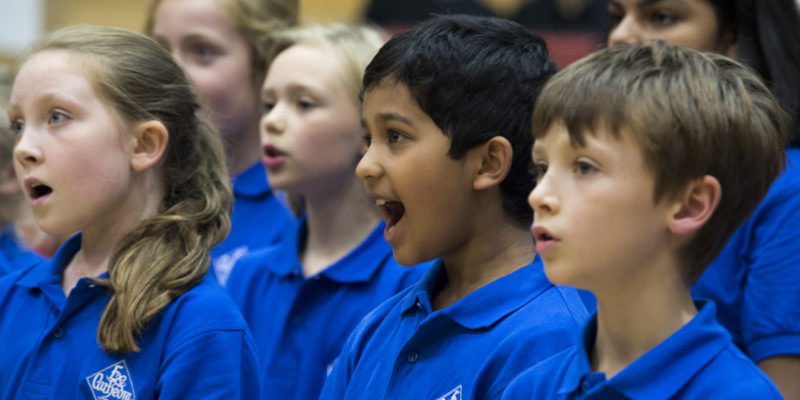 Academy of Vocal Music - A concert for Christian Aid